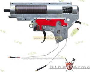 King Arms M120 Ver. II Rear Wiring Complete Gearbox for M16A2 AEG